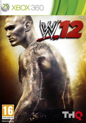 Copertina del gioco WWE 12 per Xbox 360