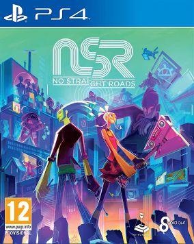 Immagine della copertina del gioco No Straight Roads per PlayStation 4