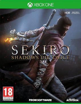 Immagine della copertina del gioco Sekiro: Shadow Die Twice per Xbox One