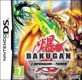 Immagine della copertina del gioco Bakugan Battle Brawlers: I Difensori della Terra per Nintendo DS