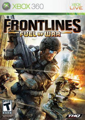 Copertina del gioco Frontlines: Fuel of War per Xbox 360