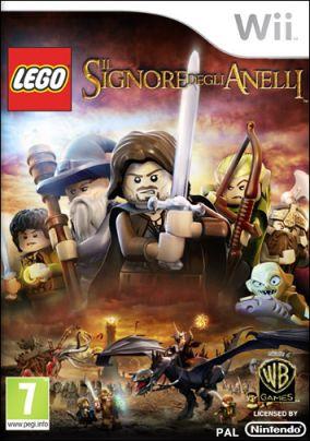 Copertina del gioco LEGO Il Signore degli Anelli per Nintendo Wii