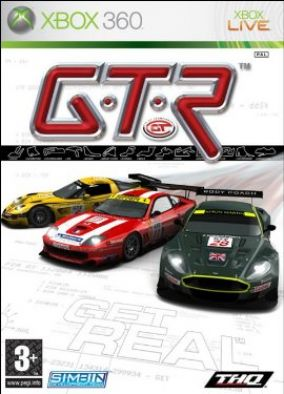 Copertina del gioco GTR per Xbox 360