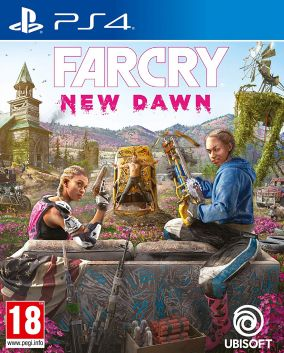 Copertina del gioco Far Cry New Dawn per PlayStation 4