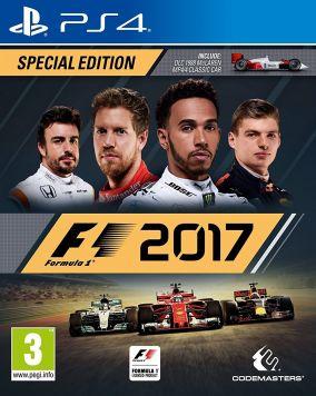 Immagine della copertina del gioco F1 2017 per PlayStation 4