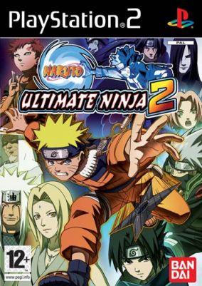 Copertina del gioco Naruto: Ultimate Ninja 2 per PlayStation 2