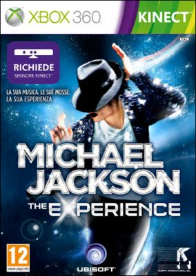 Copertina del gioco Michael Jackson: The Experience per Xbox 360