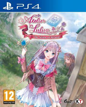 Immagine della copertina del gioco Atelier Lulua: The Scion of Arland per PlayStation 4