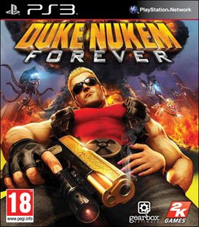 Copertina del gioco Duke Nukem Forever per PlayStation 3