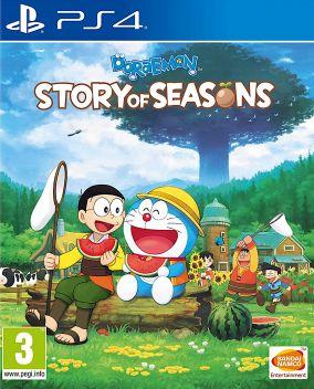 Immagine della copertina del gioco Doraemon Story of Seasons per PlayStation 4