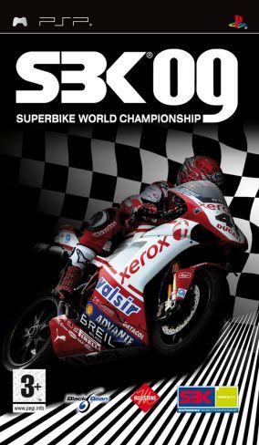 Immagine della copertina del gioco SBK 09 Superbike World Championship per PlayStation PSP