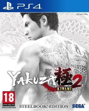 Immagine della copertina del gioco Yakuza Kiwami 2 per PlayStation 4