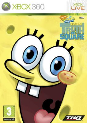 Copertina del gioco SpongeBob's Truth or Square per Xbox 360