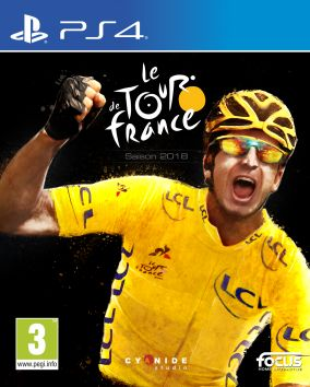Copertina del gioco Tour de France 2018 per Playstation 4