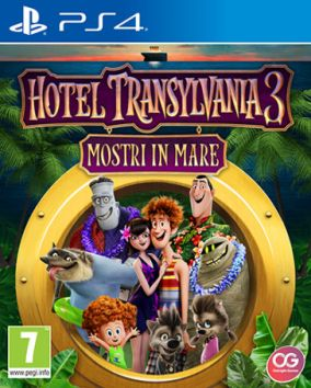 Immagine della copertina del gioco Hotel Transylvania 3: Mostri in mare per Playstation 4