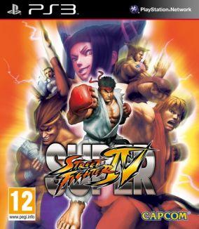 Immagine della copertina del gioco Super Street Fighter IV per PlayStation 3