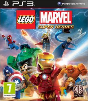Copertina del gioco LEGO Marvel Super Heroes per PlayStation 3