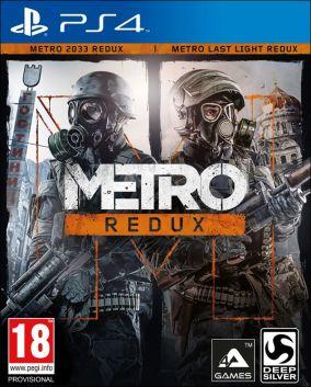 Immagine della copertina del gioco Metro Redux per PlayStation 4