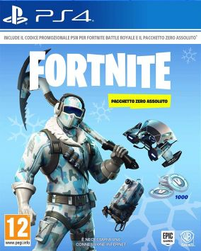 Immagine della copertina del gioco Fortnite: Pacchetto Zero Assoluto per PlayStation 4