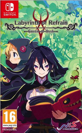 Copertina del gioco Labyrinth of Refrain: Coven of Dusk per Nintendo Switch