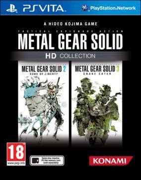 Immagine della copertina del gioco Metal Gear Solid HD Collection per PSVITA