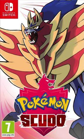 Copertina del gioco Pokémon Scudo per Nintendo Switch