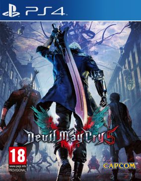 Copertina del gioco Devil May Cry 5 per PlayStation 4