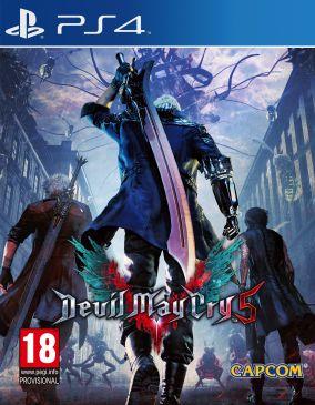 Immagine della copertina del gioco Devil May Cry 5 per PlayStation 4