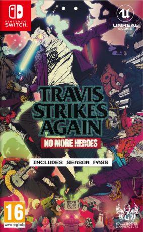 Immagine della copertina del gioco Travis Strikes Again: No More Heroes per Nintendo Switch