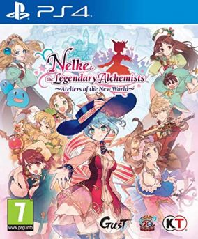 Copertina del gioco Nelke & the Legendary Alchemists: Ateliers of the New World per PlayStation 4