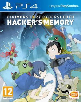 Immagine della copertina del gioco Digimon Story: Cyber Sleuth - Hacker's Memory per PSVITA