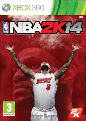 Copertina del gioco NBA 2K14 per Xbox 360
