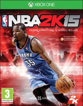 Copertina del gioco NBA 2K15 per Xbox One