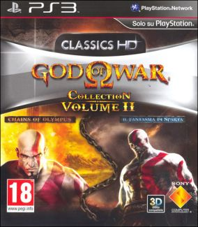 Copertina del gioco God Of War: Collection 2 per PlayStation 3