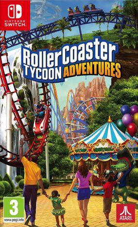 Immagine della copertina del gioco RollerCoaster Tycoon Adventures per Nintendo Switch