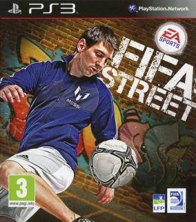 Immagine della copertina del gioco FIFA Street per PlayStation 3