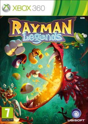 Copertina del gioco Rayman Legends per Xbox 360