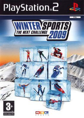 Immagine della copertina del gioco Winter Sports 2009: The Next Challenge per PlayStation 2