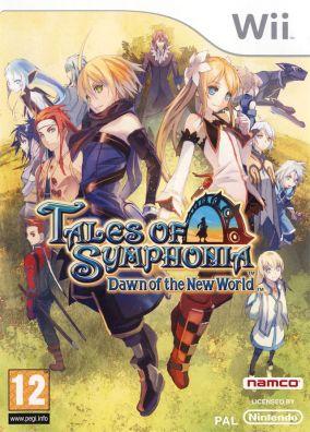 Immagine della copertina del gioco Tales of Symphonia: Dawn of the New World per Nintendo Wii