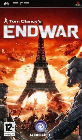 Immagine della copertina del gioco Tom Clancy's EndWar per PlayStation PSP