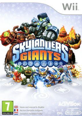 Copertina del gioco Skylanders Giants per Nintendo Wii