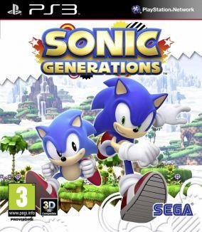 Copertina del gioco Sonic Generations per PlayStation 3