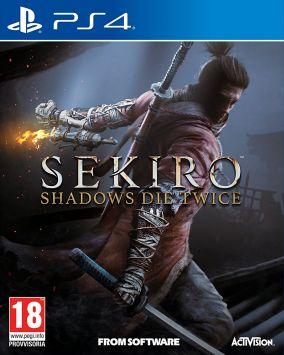 Immagine della copertina del gioco Sekiro: Shadows Die Twice per PlayStation 4