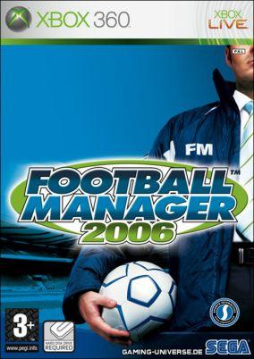 Copertina del gioco Football Manager 2006 per Xbox 360