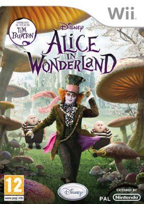 Immagine della copertina del gioco Alice In Wonderland per Nintendo Wii