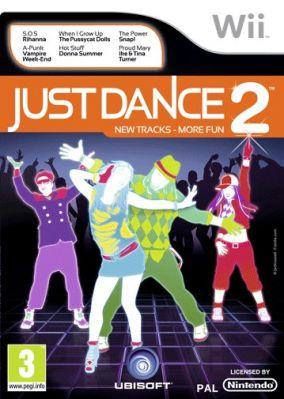 Immagine della copertina del gioco Just Dance 2 per Nintendo Wii