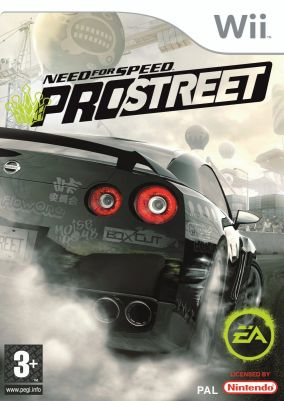 Immagine della copertina del gioco Need for Speed Pro Street per Nintendo Wii