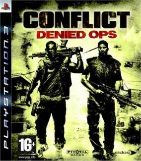 Copertina del gioco Conflict: Denied Ops per PlayStation 3