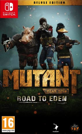 Copertina del gioco Mutant Year Zero: Road to Eden per Nintendo Switch