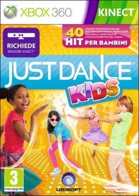Copertina del gioco Just Dance Kids per Xbox 360